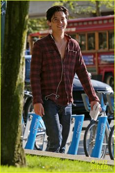 cole sprouse looks handsome in plaid for photo lab run 03