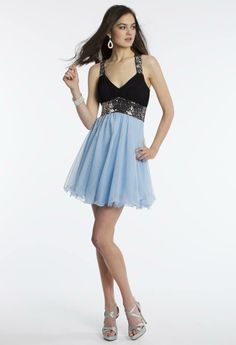 Camille La Vie Short Party Prom Dress