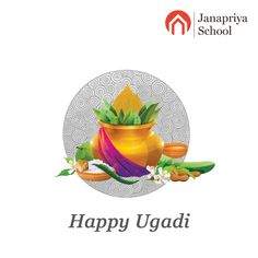 Wishing you a happy and prosperous Ugadi; May this year bring you lots of happiness and life. Happy Dussehra Wishes, Education For All, Real Estate Development, Secondary School, Hyderabad, Festivals, Happiness, Gates, Life