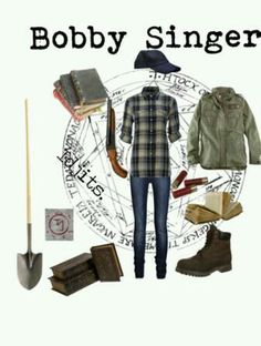 Supernatural Bobby Singer Outfit for girls. Id wear this everyday.