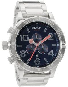 NIXON 51-30 CHRONO WATCH - NAVY - £ 379.95