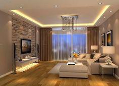 deco salon gris et taupe decoration séjour moderne et bistre