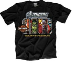 Design HD.AVENGERS view front