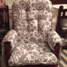 """Thanks for your 5 star review, Katie!  """"Fantastic work! Fits my chair like a glove! Worth the wait for sure! Thank you!!"""""""
