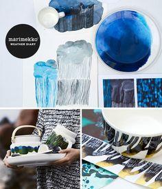 Marimekko: Weather Diary collection.