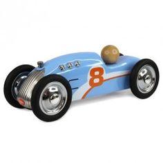 Petite voiture en métal Baghera Rocket Bleu