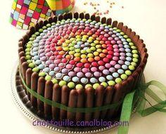 Gâteau d'anniversaire pour les (grands) enfants... - Chat-Touille