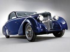 1938 Jaguar SS 100 Coupe by Graber