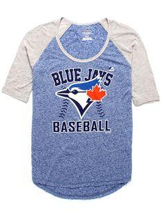 Majestic Women's Blue Jays® Baseball T-Shirt Cuba, Baseball Mom Shirts, Sports Mom, Toronto Blue Jays, Go Blue, School Fashion, Athletic Wear, Mom Style, School Outfits