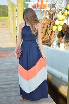 Long Maxi Dress For Summer
