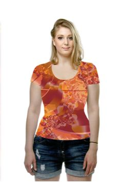 By Rosemarie  Weidmann, OArtTee specializes in creating amazing, vibrant and colorful Wearable Art