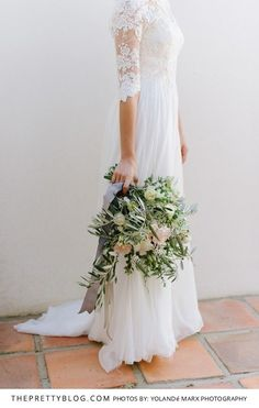 A Classic Take on a Traditional Wedding   Real Weddings   Detailed Wedding Inspiration   Bouquet Inspiration   Wedding Dress by White Lilly Bridal   Photography by Yolandé Marx
