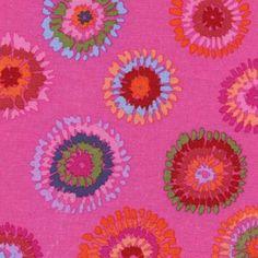 Kaffe Fassett Plink Magenta Fabric Stitch Craft Create