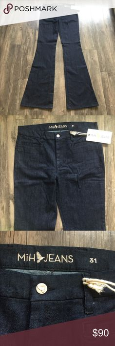 """NWT Marrakesh Jean Mid Rise Kick Flare New with tags. Size 31. Mid rise, kick flare. Raw wash. 36"""" leg. Anthropologie Jeans Flare & Wide Leg"""