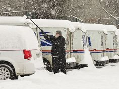 A powerful winter storm will unleash heavy, wet snow and howling winds.