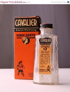 SALE 50's Cavalier Shoe Cleaner