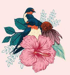 New design by Mat Miller: Barn Swallows