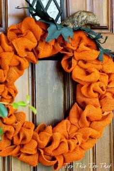 Shamelessly+Easy+Halloween+Burlap+Wreath+Tutorial