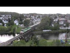 Railfanning sur CN Lac-St-Jean sub, Jonquière, Québec (HD 1080)