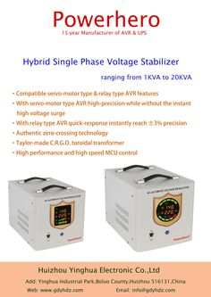 13 Best Actomatic Voltage Regulator Ac Stabilizer Images Stability
