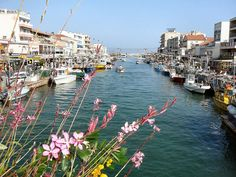 Palavas Des Flots, France...where I spent summer one year -- I was young and free and everything was sunshine.