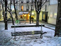Montmartre Place Emile Goudeau