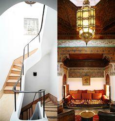 I love Moroccan inspired design & architecture