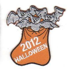 Halloween 2012 Bats/Bag (Iron-On)