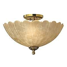 "Hinkley Isabella Collection 15"" Wide Ceiling Light Fixture"