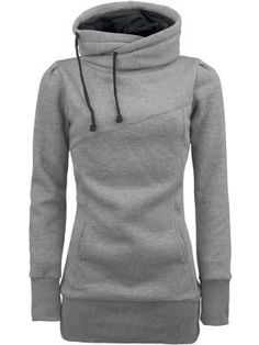 Girls hooded sweatshirt by Smart Hoodie. I adore it! A comfy pull over that's not a gross sloppy hoodie!