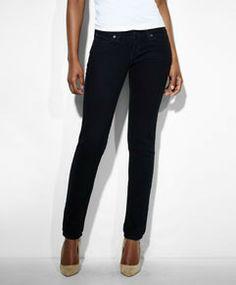 Low Rise Demi Curve Skinny Jeans - Onyx - Levi's - levi.com