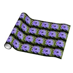 Purple Bloom Gift Wrap Paper