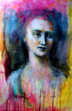 A four week guided Expressive faces and figures Ecourse – January 19th 2015 –  February 16th 2015 by Seedbedstudio