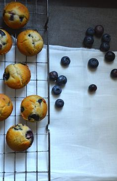 Mini Blueberry Muffins from Knead Bakery