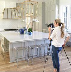 Redo home and design Nashville,TN. Perfect kitchen! Darlana lanterns