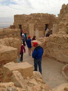 The ruins of Herod's palace at Masada Israel Trip, Israel Travel, Visit Israel, Holy Land, Jerusalem, World Heritage Sites, Monument Valley, Palace, Tours