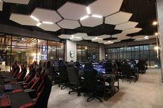 First 5-star eSports arena in Malaysia to position Malaysia as a gaming hub | Malaysian Foodie Lounge Design, Cafe Design, Store Design, Gaming Lounge, Gaming Room Setup, Lan House, Geek House, Cafe Interior, Interior Design