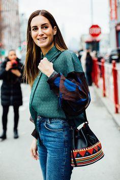 Street Style Semana de la moda de Nueva York 2016 Gala González