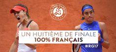 Via Roland-Garros: Caroline Garcia secures a spot in 1st Major QF with 6-2 6-4 win over countrywoman Cornet....Women's QFs set: Ostapenko vs Wozniacki;  Mladenovic vs Bacsinszky; Svitolina vs Halep; &  Garcia vs Pliskova