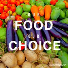 Our FOOD our CHOICE