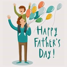 Happy Fathers Day Status, Happy Fathers Day Pictures, Fathers Day Wishes, Fathers Day Cards, Minions, Good Good Father, Father And Son, Illustration, Instagram Posts