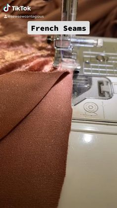 Sewing Basics, Sewing Hacks, Sewing Tutorials, Sewing Crafts, Sewing Tips, Techniques Couture, Sewing Techniques, Dress Sewing Patterns, Clothing Patterns