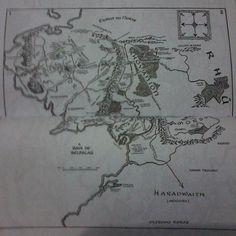 #desafioprimeira Mais conhecido que qualquer outro mapa #terramedia #LOTR #blogbymyself #blog #bymyself