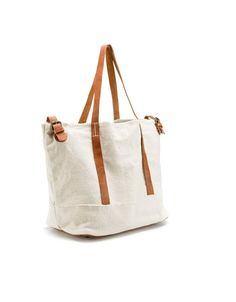 Canvas Shopper   29 Ideal Travel Bags For Your Next Trip