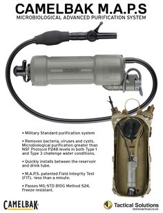 7be3418c500 Tactical Solutions went in search of a water filter that would match the  standard of the creators of the best hydration systems in the world