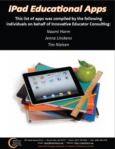 95 pages if reviewed apps for education!
