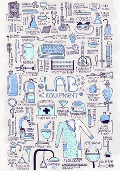 Lab Equipment Art