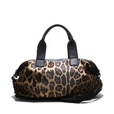 BDUFFLEE LEOPARD accessories handbags day oversized - Steve Madden