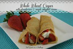 Whole Wheat Crepes {