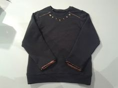 "Mooie dingen ""Made-by-Mama"": Leather sweater"